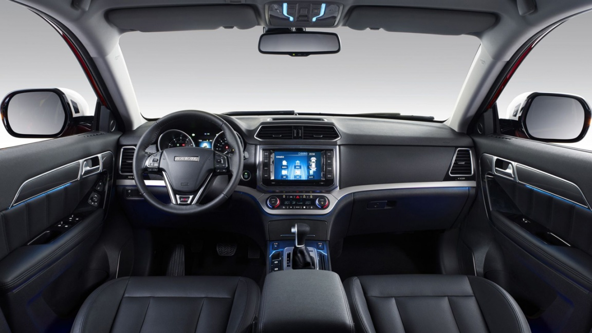 Haval H6 Coupe 2017 салон