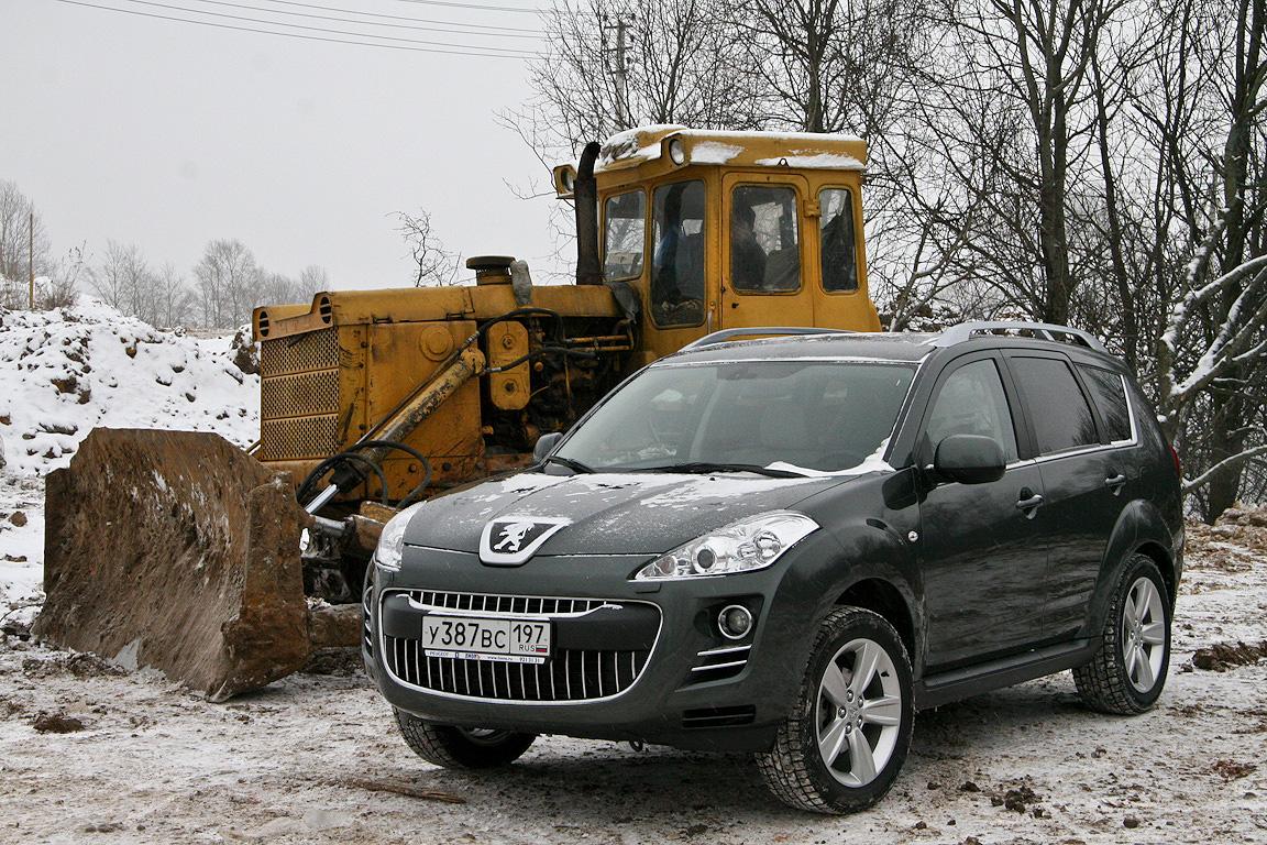 Peugeot 4007: Смесь французского с калужским