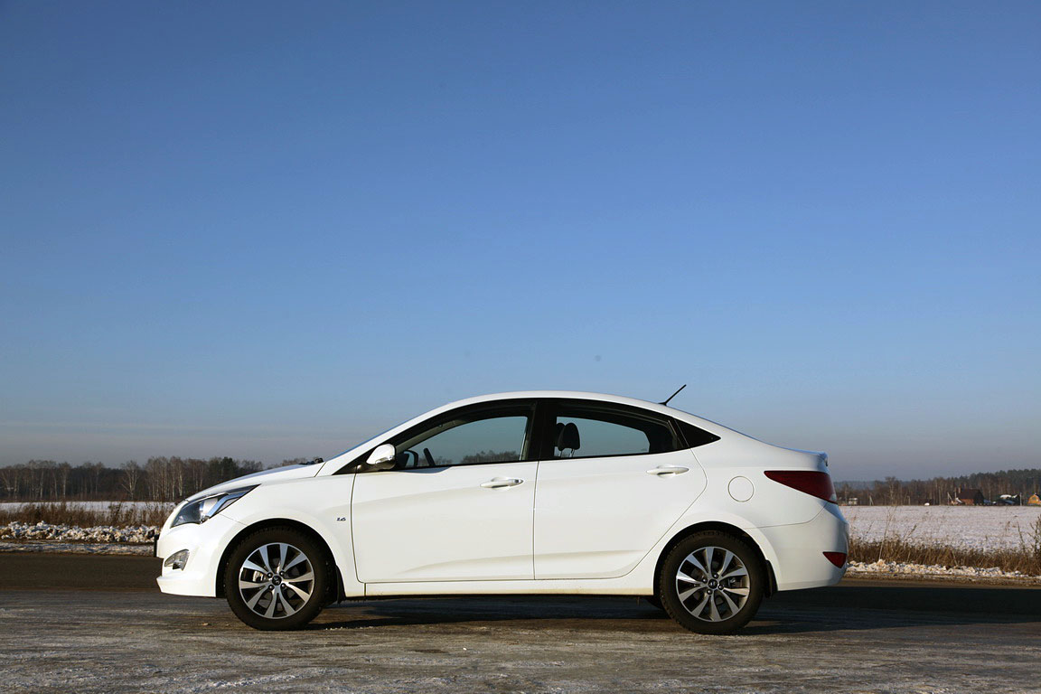 Hyundai Solaris: Special Edition 500 000th