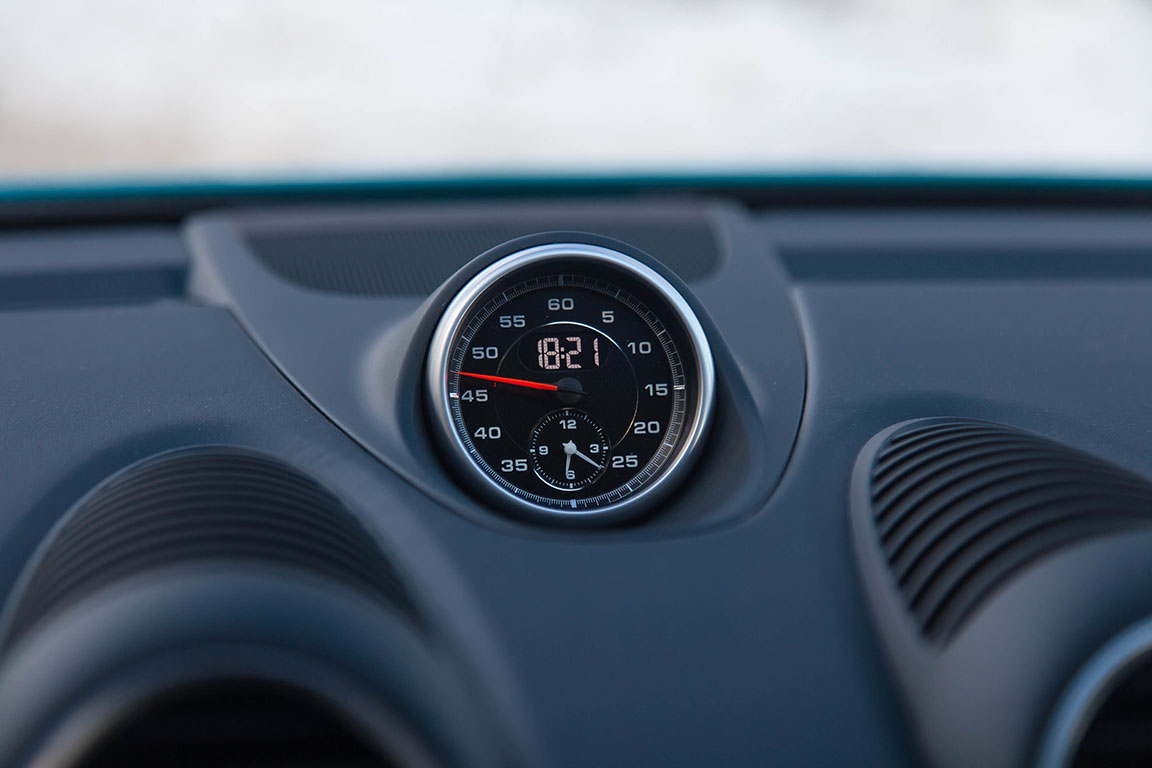 Porsche Cayman S 2017 Часы