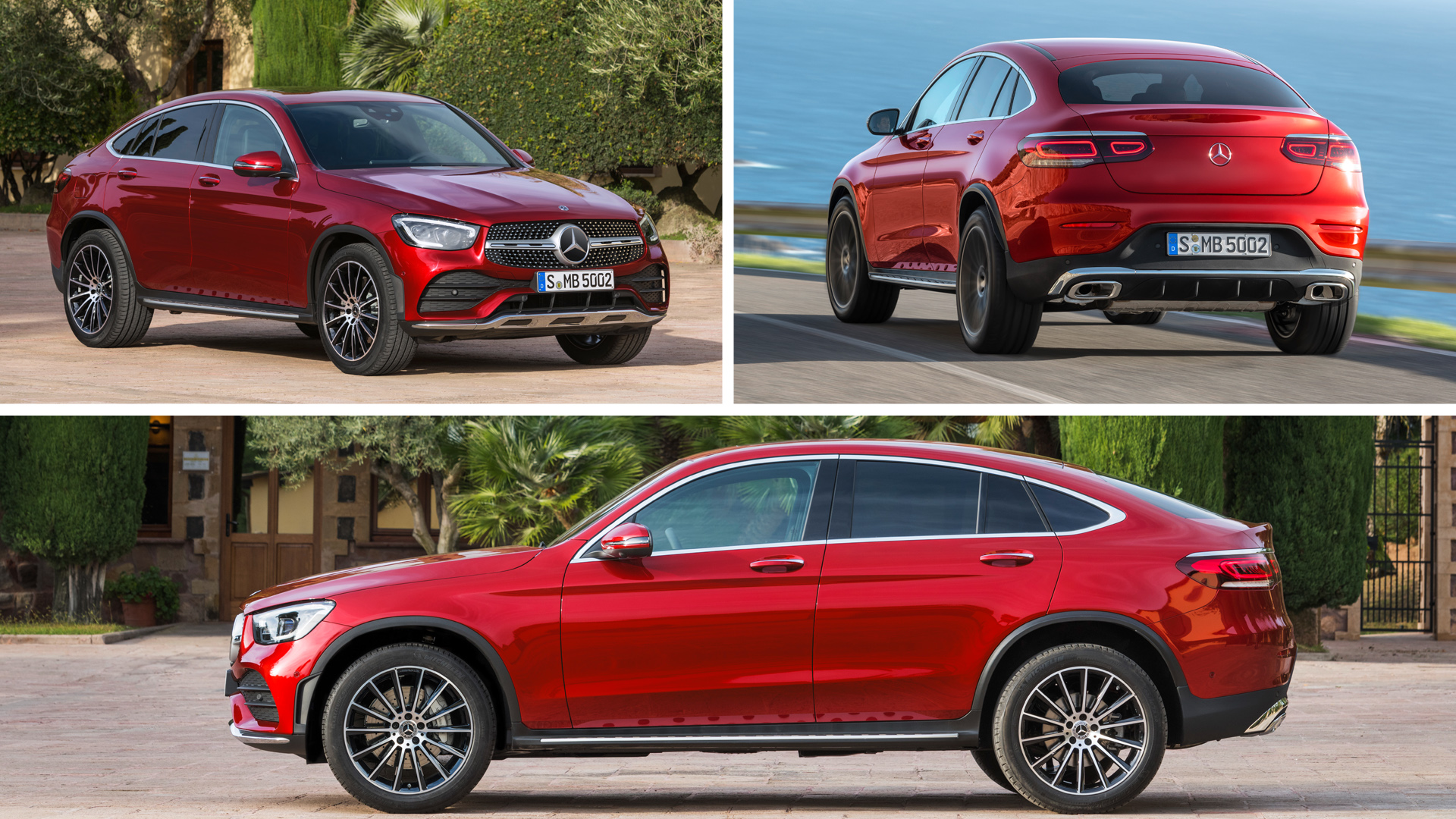 Mercedes-Benz GLC Coupe 2020