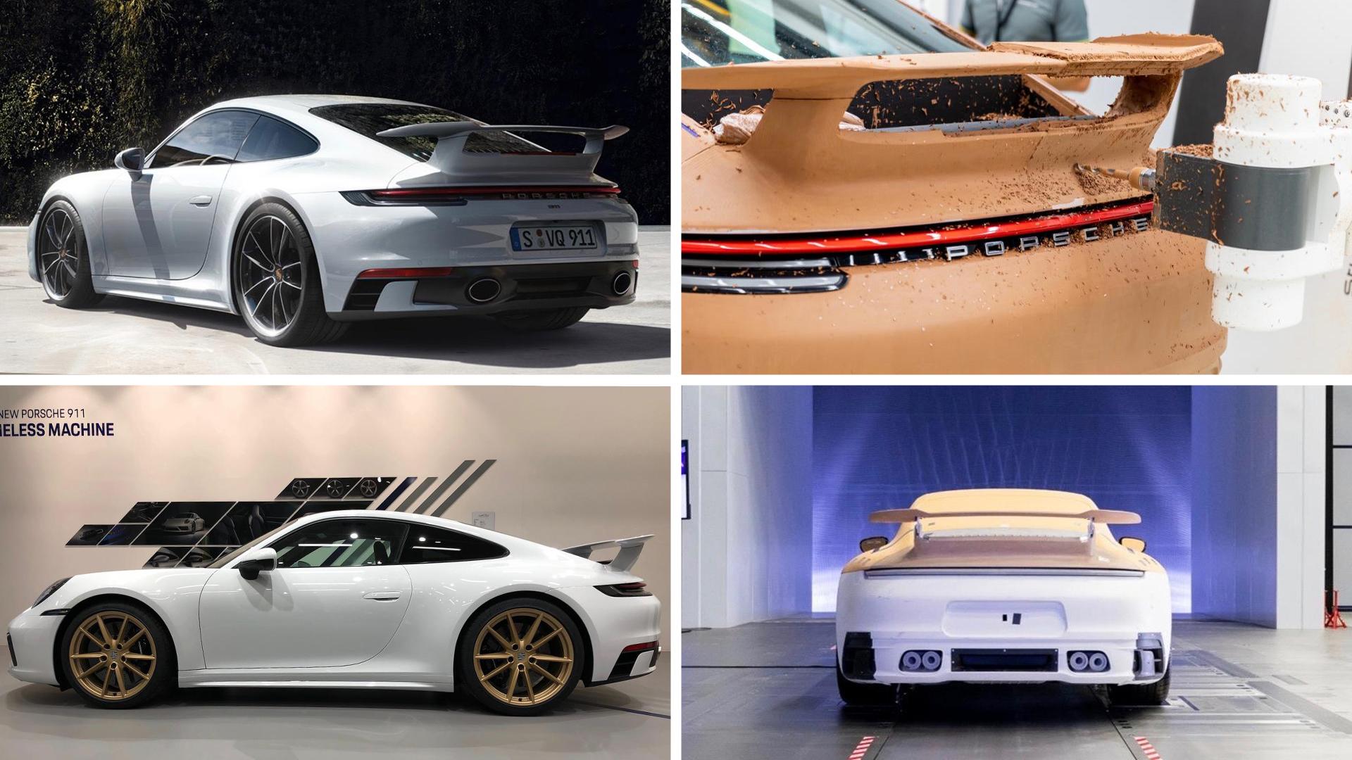 Porsche 911 carrera aerokit package