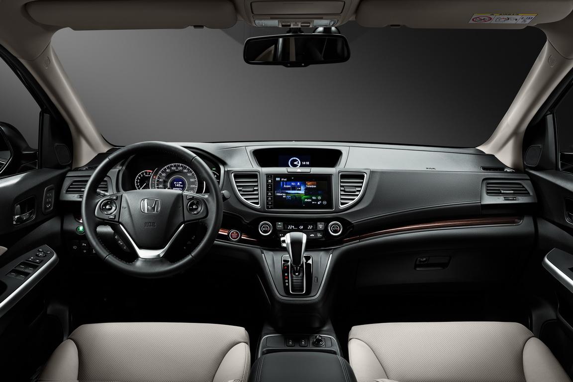 Honda CR-V: обновлен и улучшен