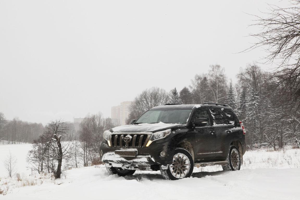 Toyota Land Cruiser Prado: Зимний драйв
