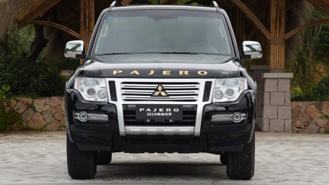 Фирма Mitsubishi слегка обновила Pajero