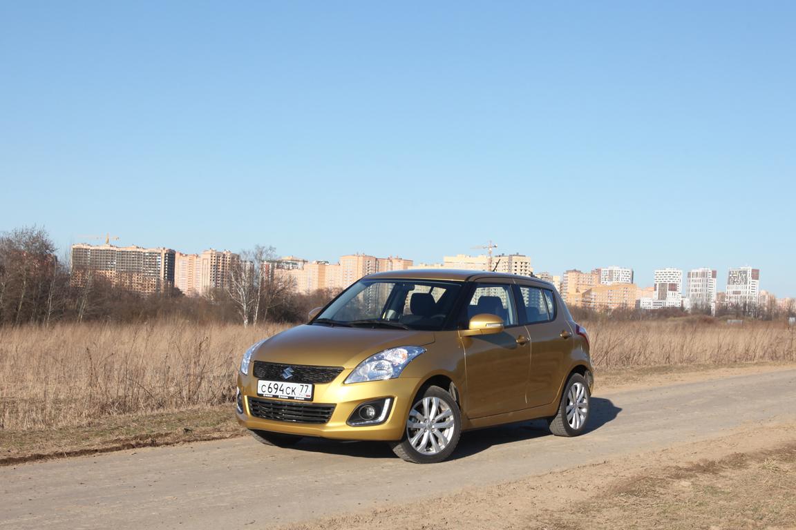 Suzuki Swift: Птенец окраин городских