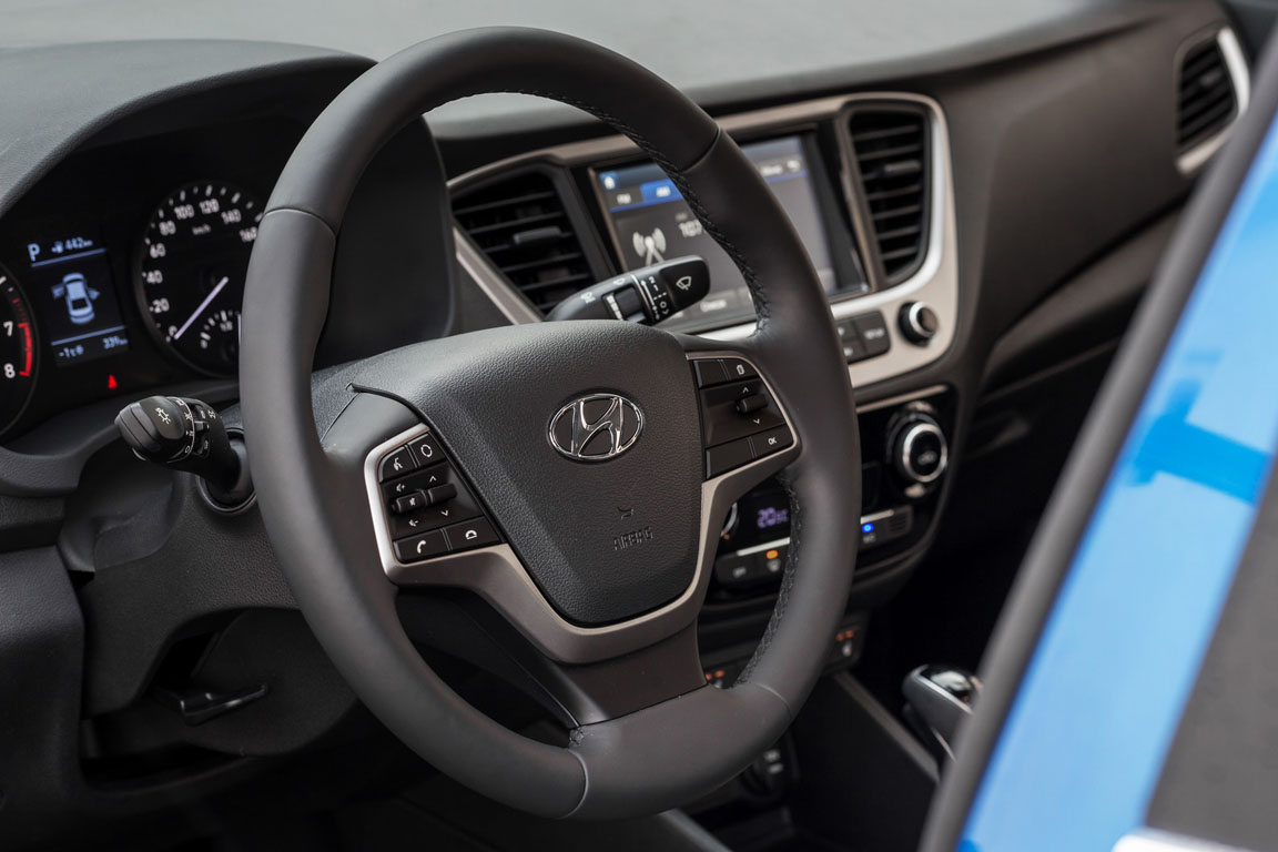 Hyundai Solaris Мультируль