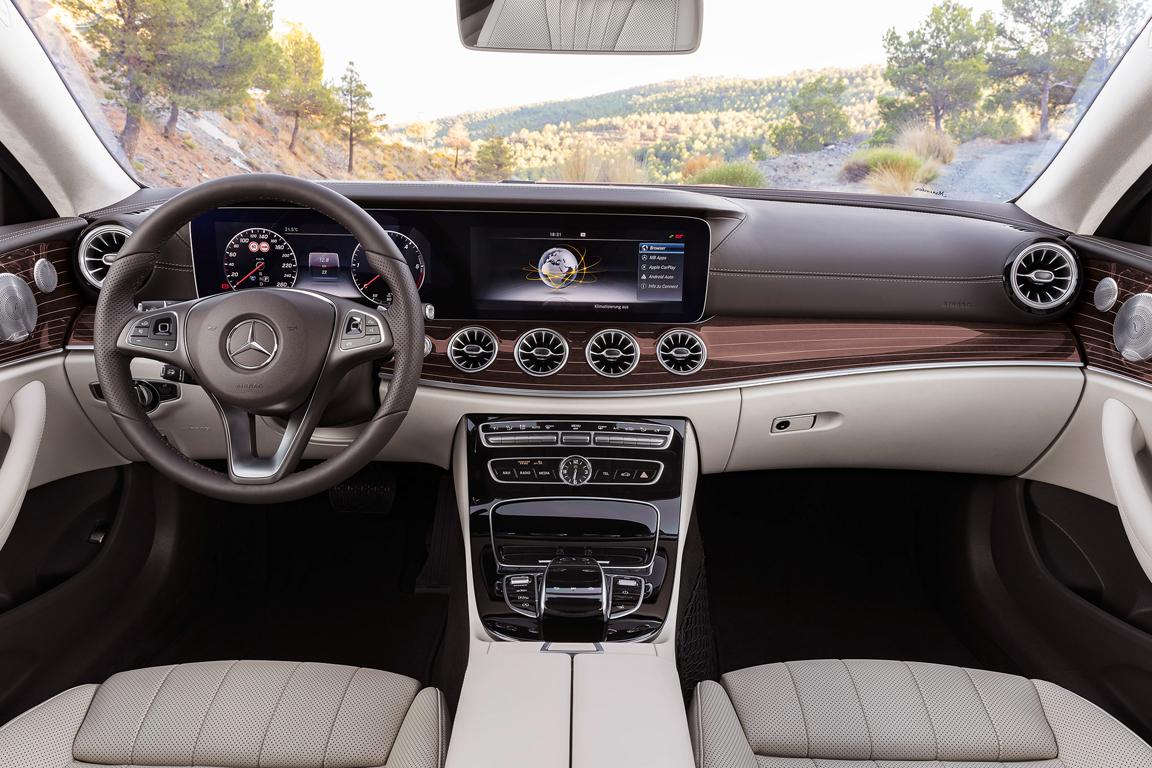 Mercedes-Benz E-class coupe 2016