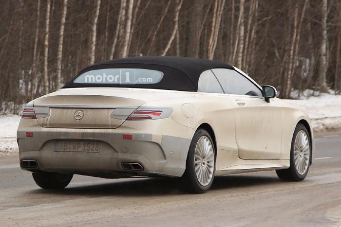 Кабриолет Mercedes-Benz S-Class