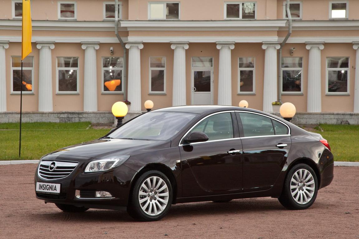 Opel Insignia: в Россию с любовью