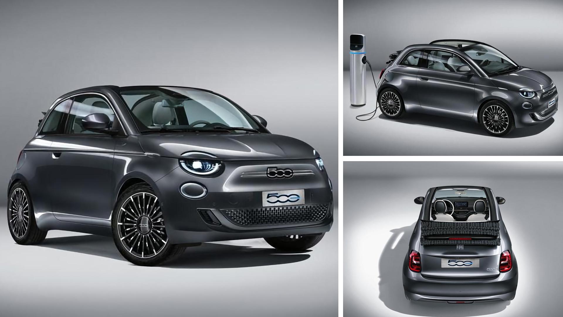 fiat 500e cabrio 2021