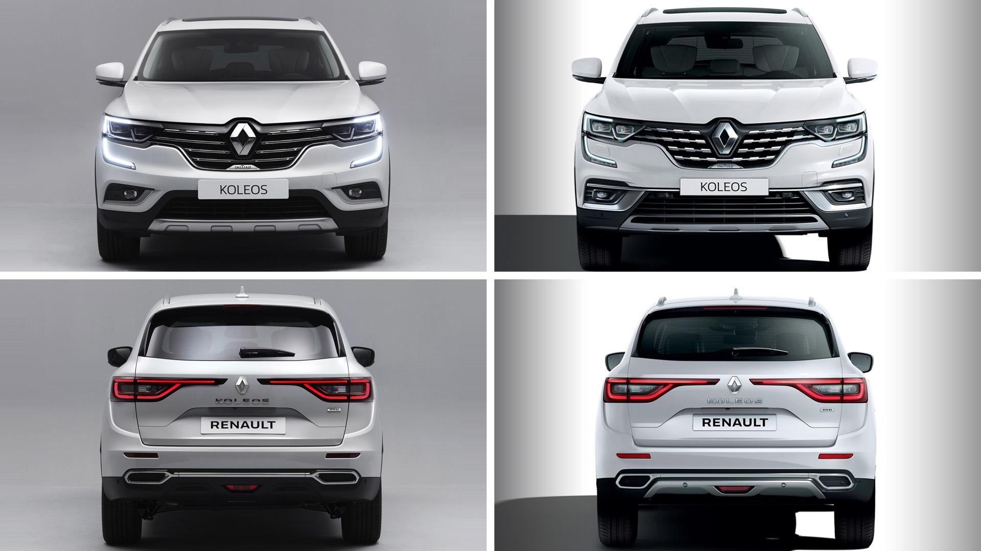 Обновленный Renault Koleos 2020