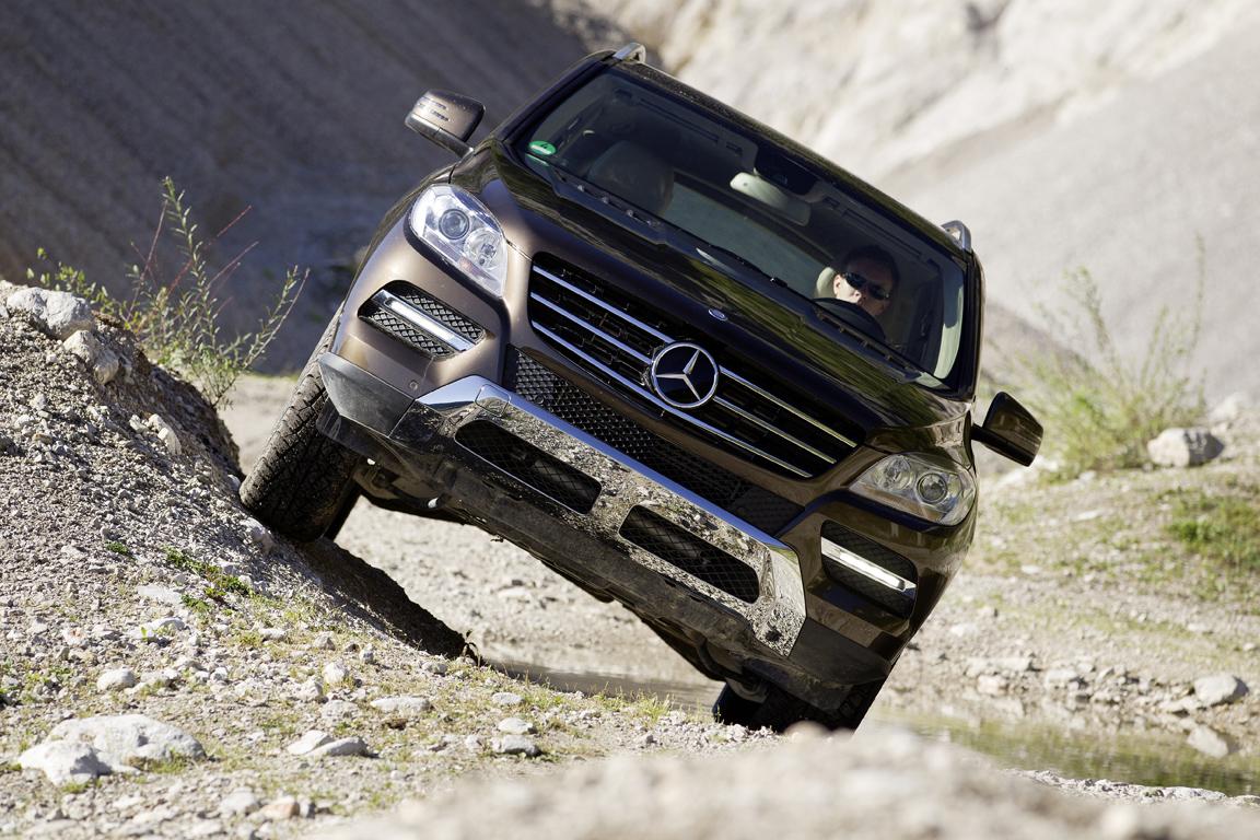Mercedes-Benz M-class: На страже традиций