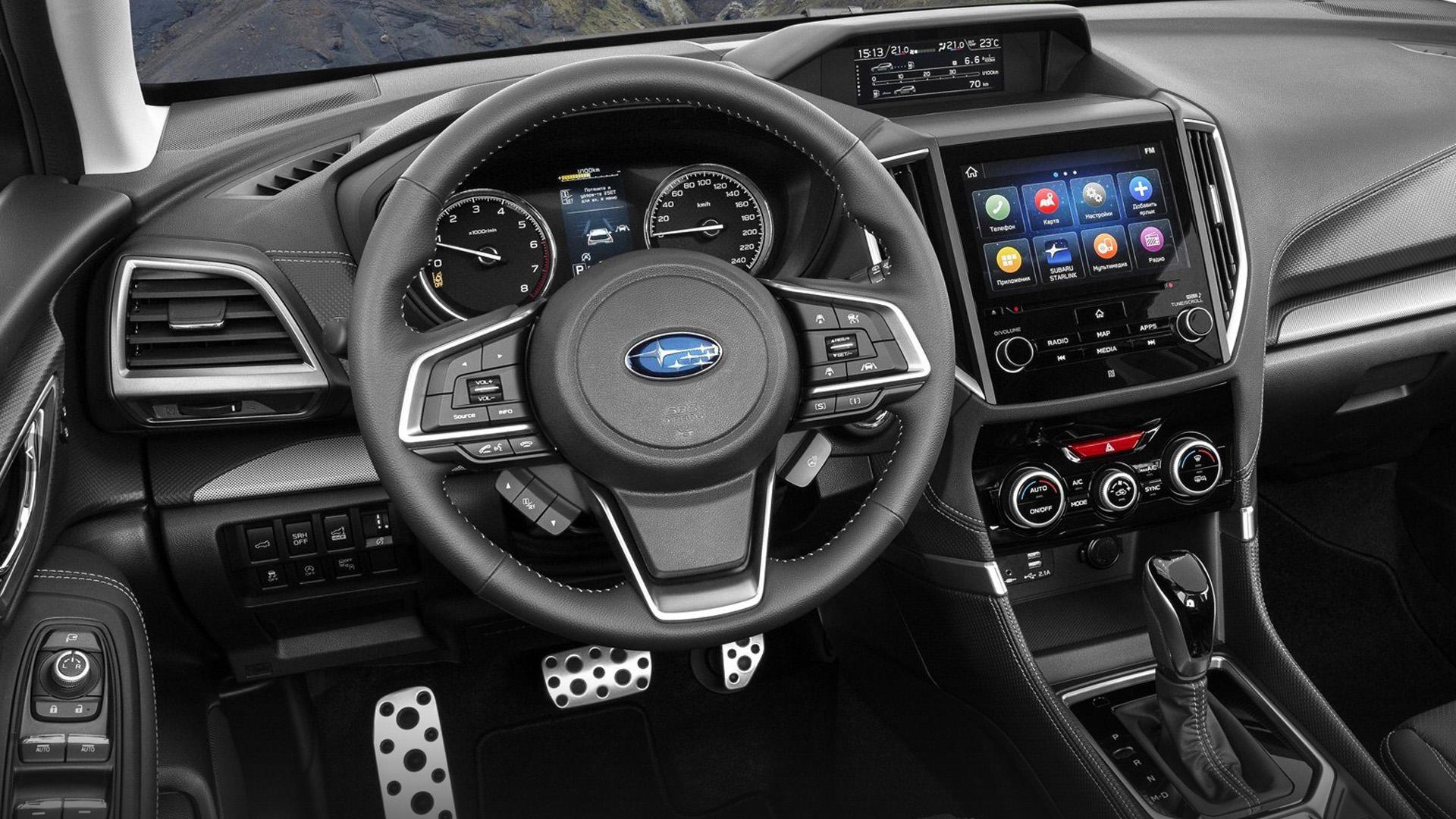 Subaru обновила оснащение кроссовера Forester