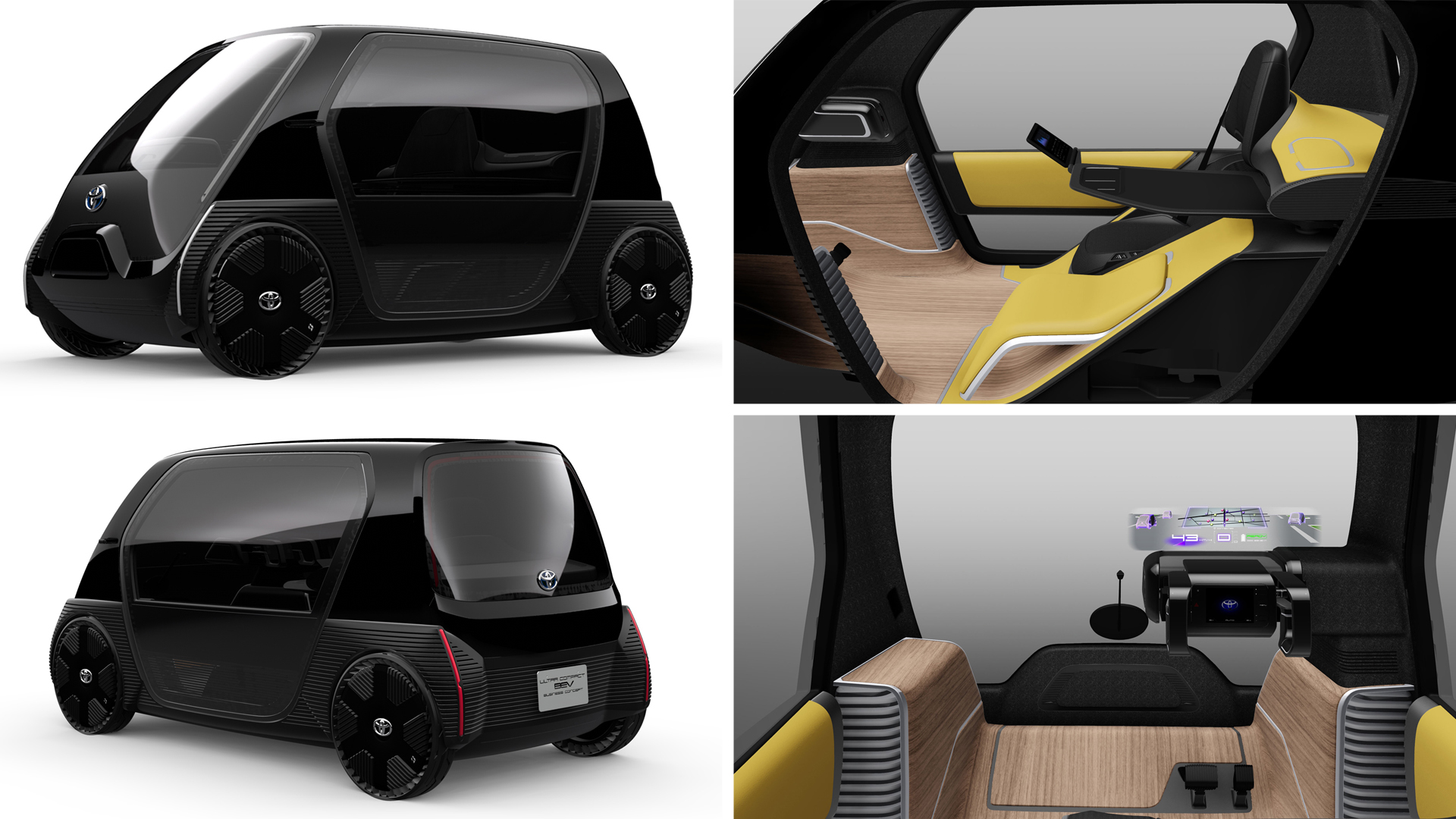 Ultra-compact BEV Concept Model for Business