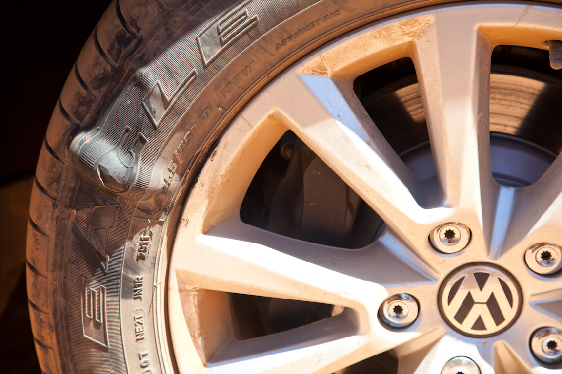 Большое африканское приключение Volkswagen Touareg