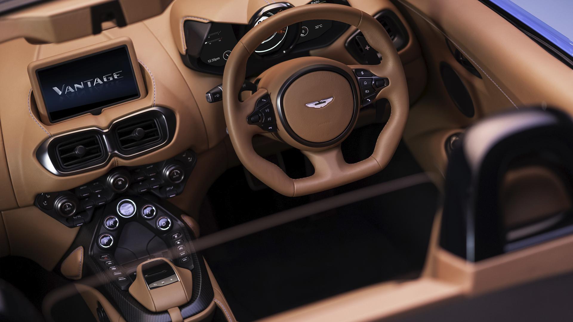 Aston Martin Vanquish Vantage Roadster 2020
