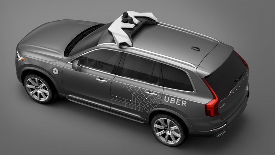 Volvo XC90 Drive Me Uber