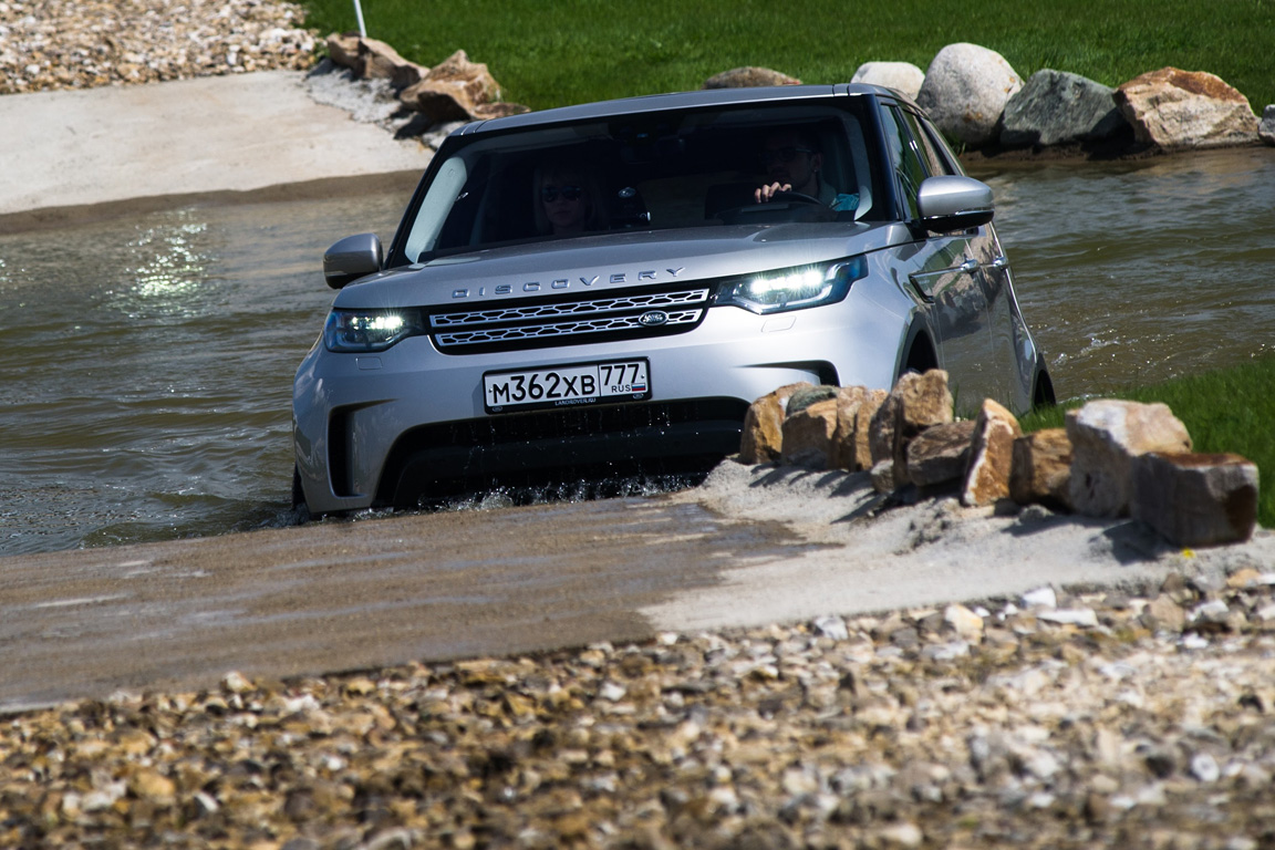 Land Rover Discovery: Приятное знакомство