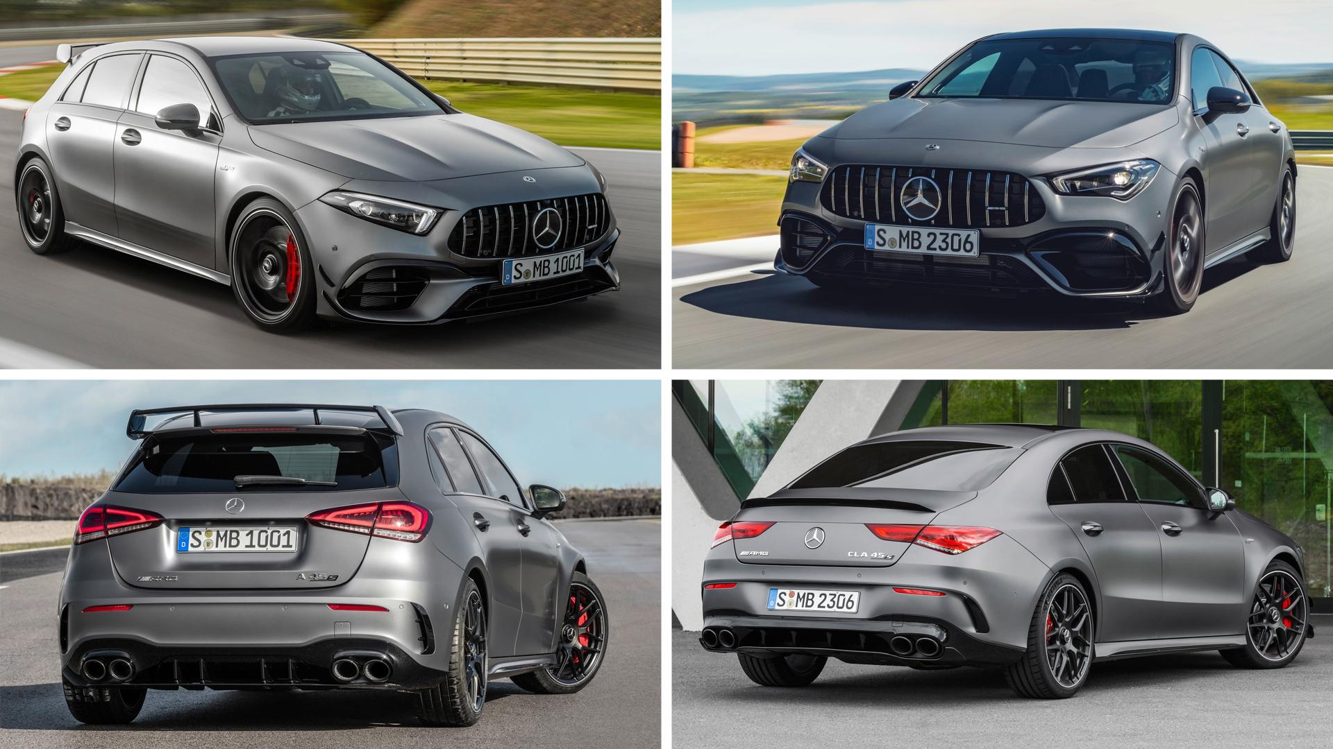 Mercedes-AMG A45 и CLA 45 дебютировали в Гудвуде