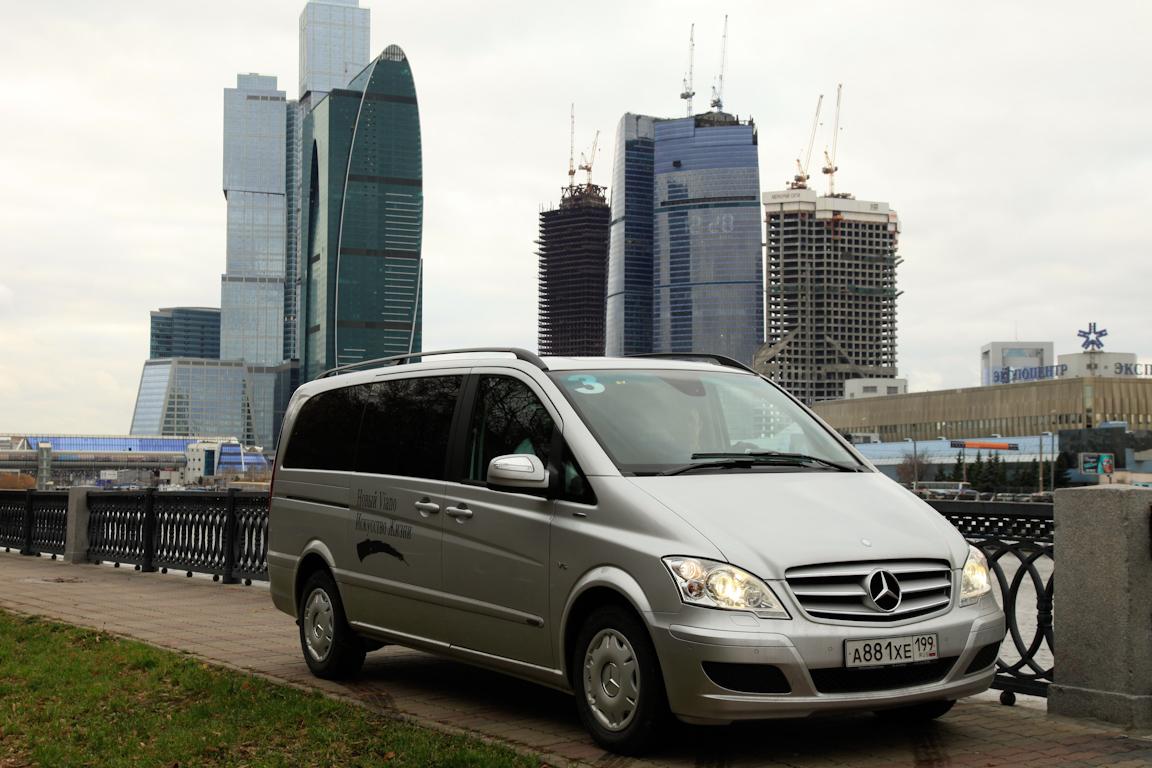 Mercedes-benz Viano первое российское знакомство