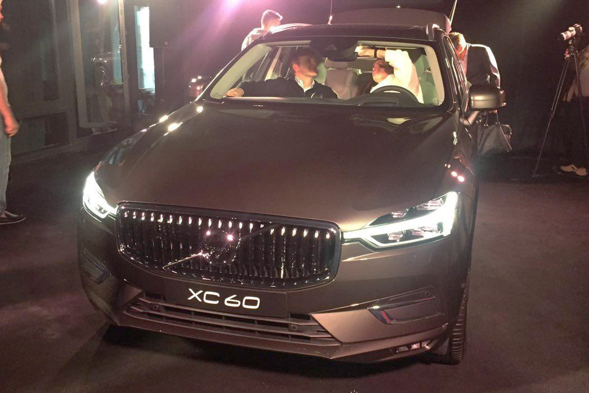 Компания Volvo озвучила цены на новый кроссовер XC60