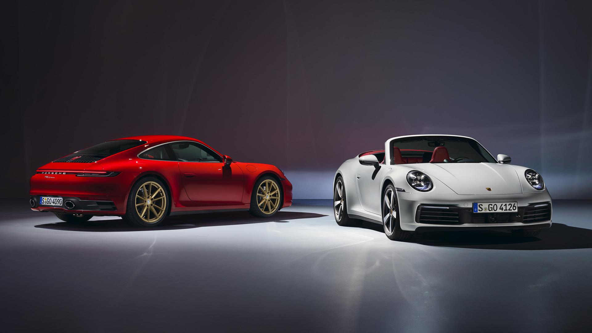 Porsche 911 carrera coupe cabriolet