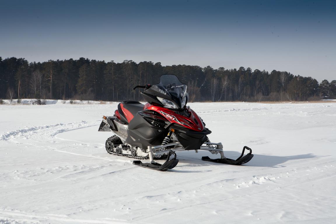 Yamaha Apex X-TX: Готовимся к «ледниковому периоду»